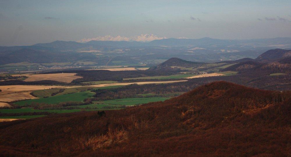 Pohľad z Rankovských skál.