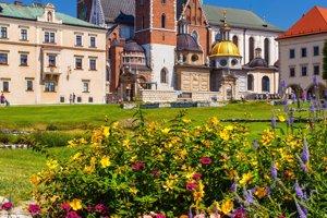 Zámok Wawel.