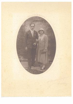 Štefan Repaský s manželkou Etelou.