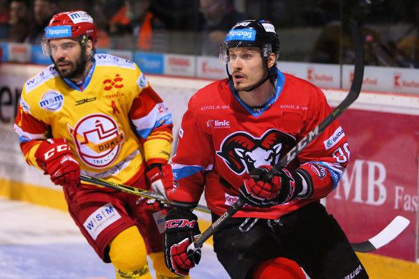 Peter Frühauf počas finálovej série.