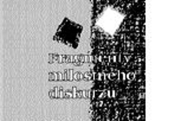 l Roland Barthes l Fragmenty milostného diskurzul Preklad Čestmír Pelikánl Vydavateľstvo Pavel MervartPraha 2008