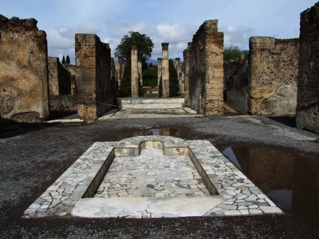 Nádvorie rímskej vily