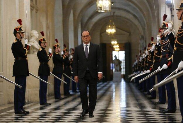 Francois Hollande. FOTO - TASR/AP