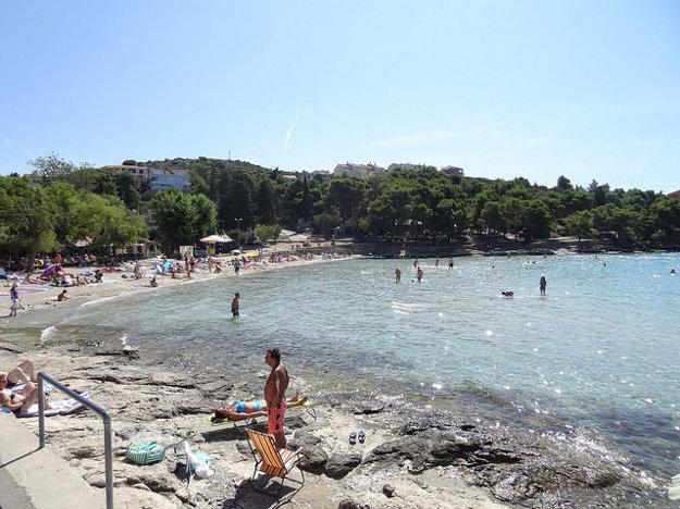 Murter, pláž Slanica.