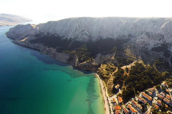 Chorvátske pobrežie ponúka množstvo prekrásnych miest na dovolenku.