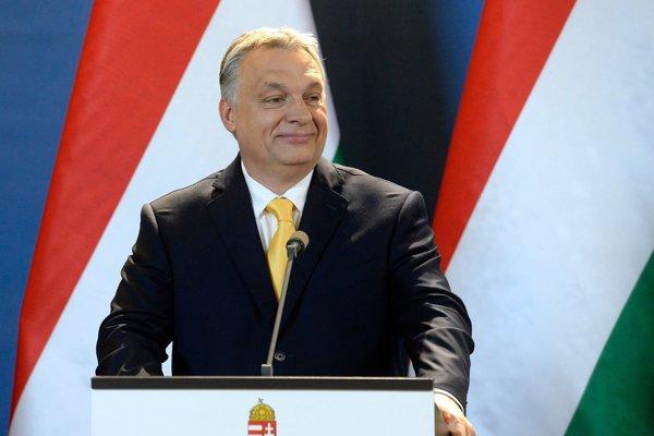 Šéf Fideszu a maďarský premiér Viktor Orbán.