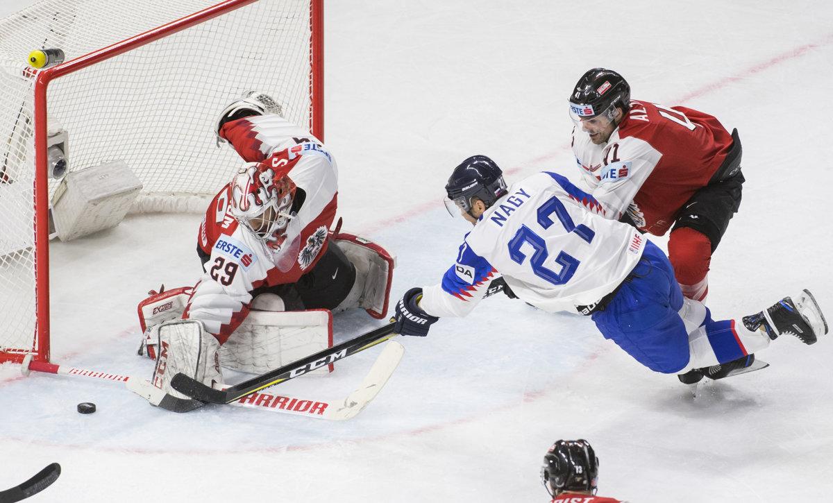 1b5a0b4346c1d Slovensko : Rakúsko - MS v hokeji 2018 - Online prenos - Šport SME