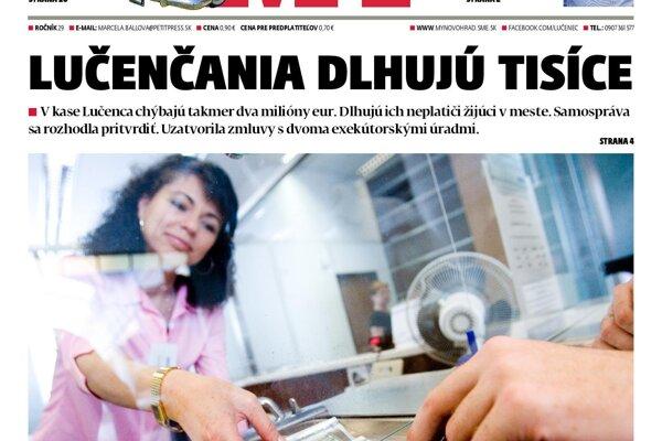 Nové číslo MY Novohradských novín je už v predaji.