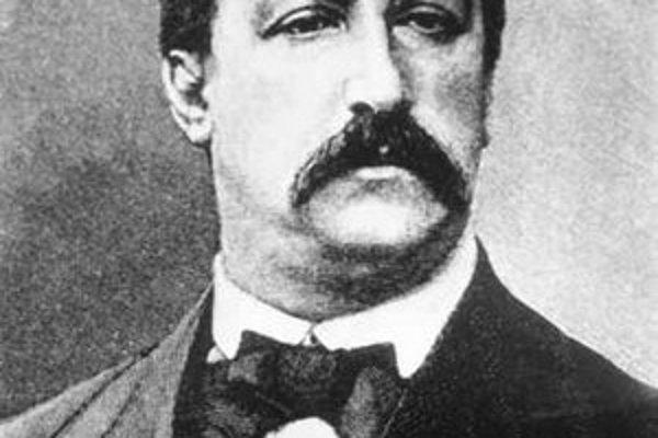 Ruský skladateľ Alexander Porfirievič Borodin.