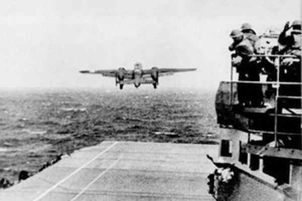 Bombardéry B25 sa po vzlete na loď už nemohli vrátiť. Mali preto pristáť v Japoncami neobsadených častiach Číny.