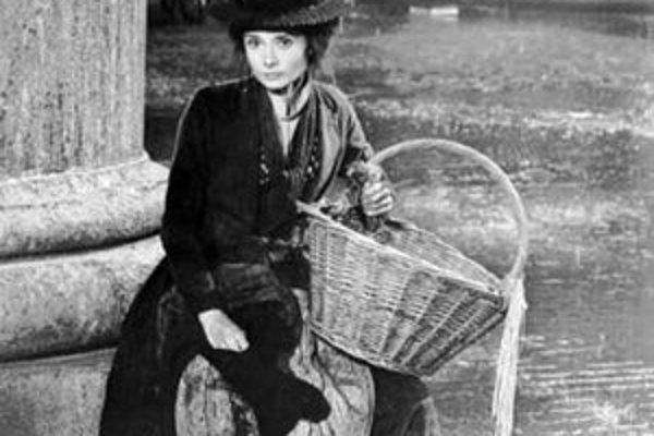 Audrey Hepburn vo filmovom spracovaní muzikálu My Fair Lady.