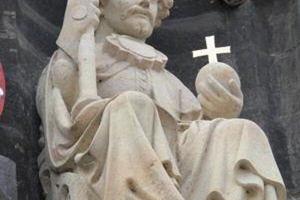 Václav IV. na pražskom Karlovom moste.