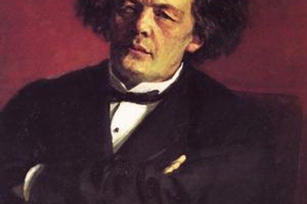 Rubinštejn na maľbe Iľju Repina.