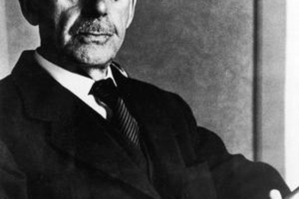 """Thomas Mann napísal aj """"veľký"""" román."""