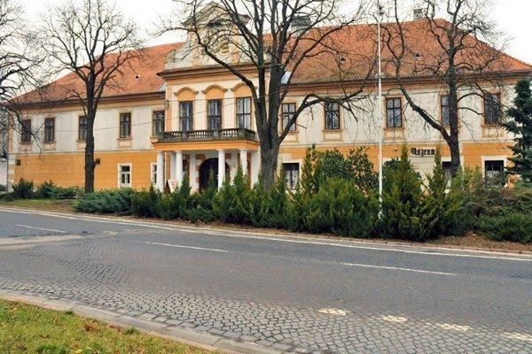 Mestské múzeum v Zlatých Moravciach.