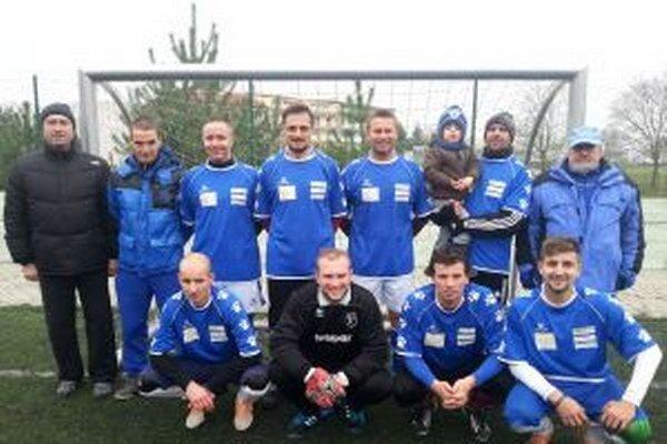 Bývalí futsalisti FK Dubnica.