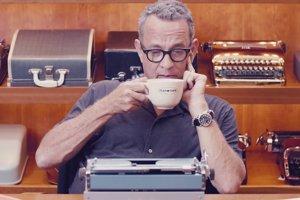 herec a spisovateľ Tom Hanks