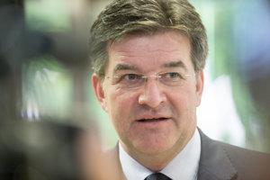 Minister zahraničných vecí Slovenska Miroslav Lajčák.