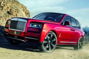 Najnovší Rolls-Royce je pomenovaný podľa diamantu Cullinan. Cullinan je prvý luxusný športovo-úžitkový automobil a súčasne prvý model firmy Rolls-Royce s pohonom všetkých štyroch kolies.
