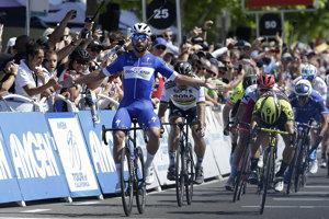 Piatu etapu na Okolo Kalifornie 2018 vyhral Fernando Gaviria.