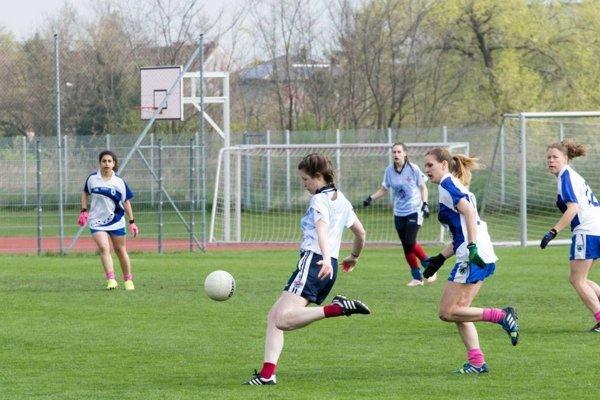 The Slovak Shamrocks, popredný gaelský futbalový tím z Bratislavy.