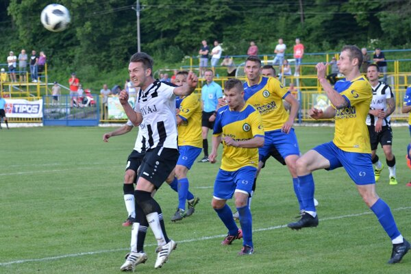 Rožňava zdolala gólom vzáverečných sekundách Vranov.