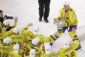Švédi po roku opäť oslavujú titul majstrov sveta.