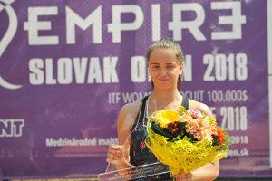 Viktória Kužmová podala skvelý výkon na turnaji v Trnave.