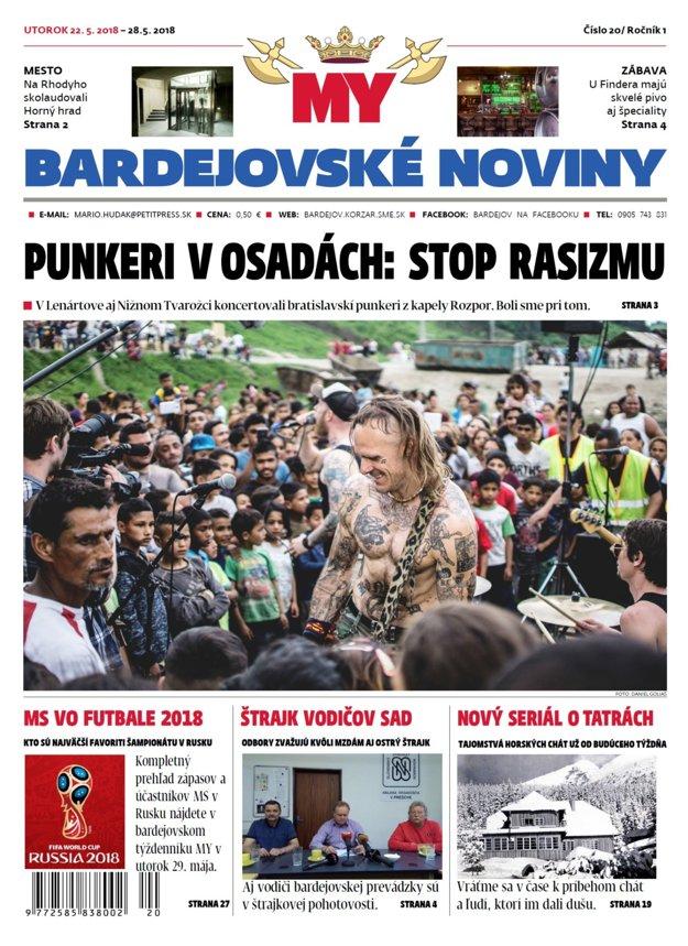 Bardejovské noviny č.20