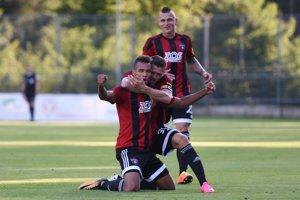 Marvin Egho zabezpečil dvoma gólmi tri body pre Spartak v 2.kole na ihrisku Podbrezovej.