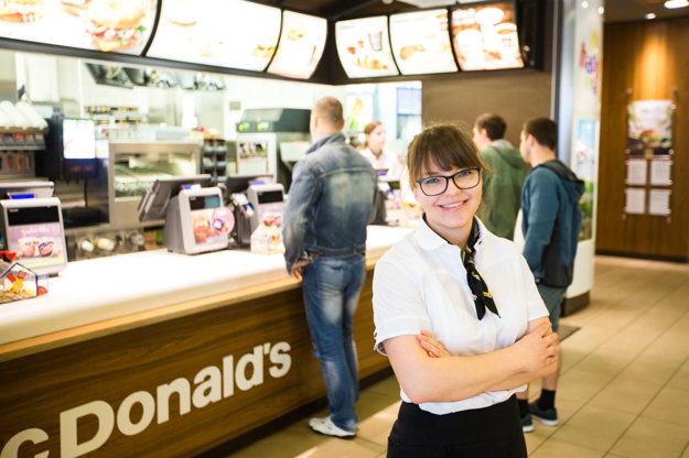 Monika Filová, Restaurant Manager McDonald's Eurovea