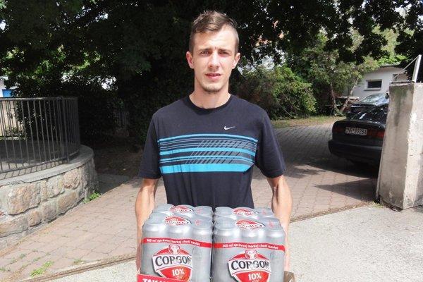 Po kartón piva Corgoň si prišiel Kristián Frajka zo Zlatých Moraviec, víťaz 10. kola.