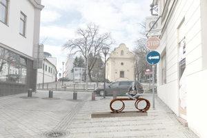 Fotobod na Kupeckej ulici, pod Vŕškom.