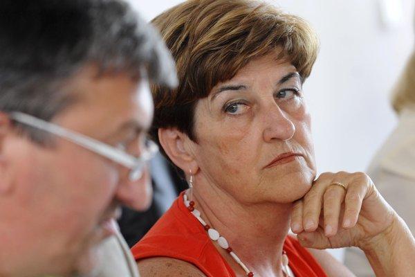 Na snímke z roku 2009 vtedajšia členka Súdnej rady SR Helena Kožíková.