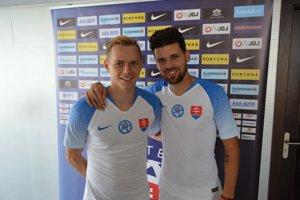 Ondrej Duda (vľavo) a Michal Ďuriš.