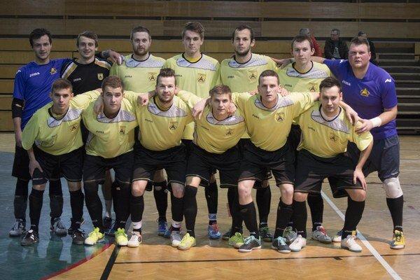 Futsalový klub Makroteam Žilina.