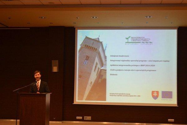Juraj Blanár otvoril konferenciu.