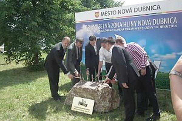 Základný kameň nového priemyselného parku