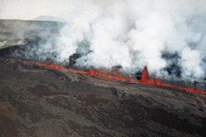 Erupcie sopky Kilauea pokračujú.