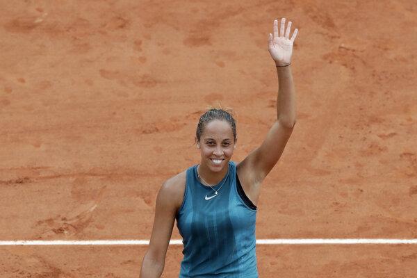 Madison Keysová vyradila Naomi Osakovú v treťom kole na Roland Garros.