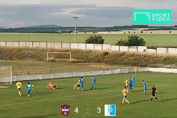 Vrábľania v sedemgólovej prestrelke porazili Šaľu. Víťazný gól strelil striedajúci Jakub Kuchta.