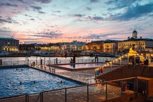 Projekt kúpeľov v Helsinkách