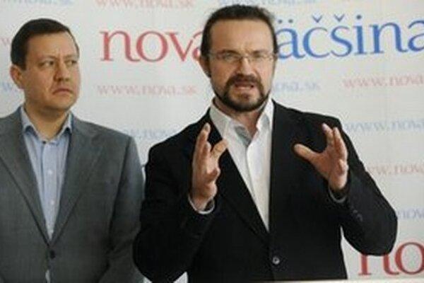 Daniel Lipšic a Michal Sygút.