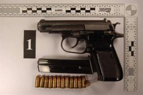 Ľubomírova pištoľ.