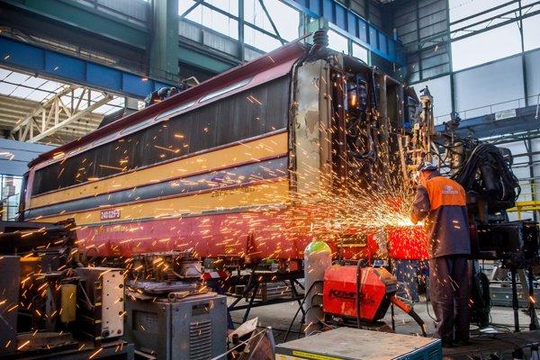 Modernizácia lokomotívy. (ilustračné foto)