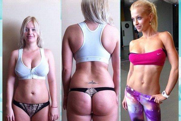 Michaela Brutenič schudla za 18 mesiacov úctyhodných 30 kilogramov.