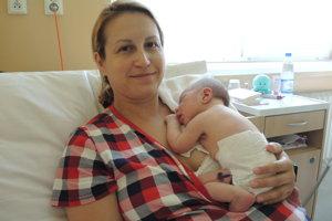 Felix Vráblik (3330 g, 50 cm) sa narodil 27. mája Natálii a Marekovi z Novej Dubnice.