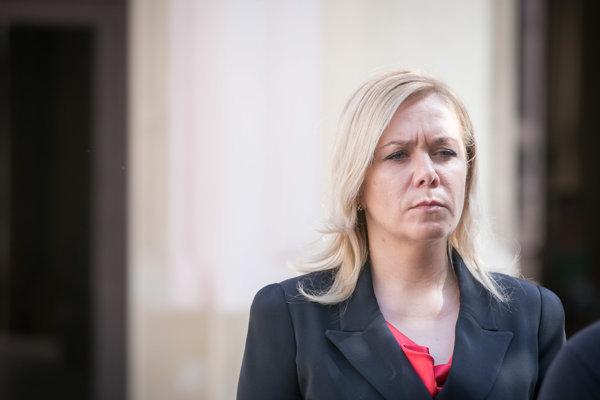 Ministerka Denisa Saková.