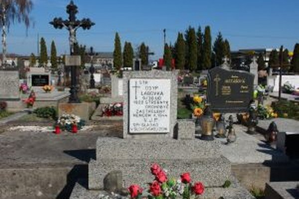 Ukrajinec Osyp Labovka padol v 2. svetovej vojne. Ako posledný vojak leží na cintoríne v Bytči.