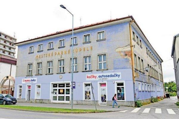 Budova parných kúpeľov patrí spoločnosti ŽOS Trade.